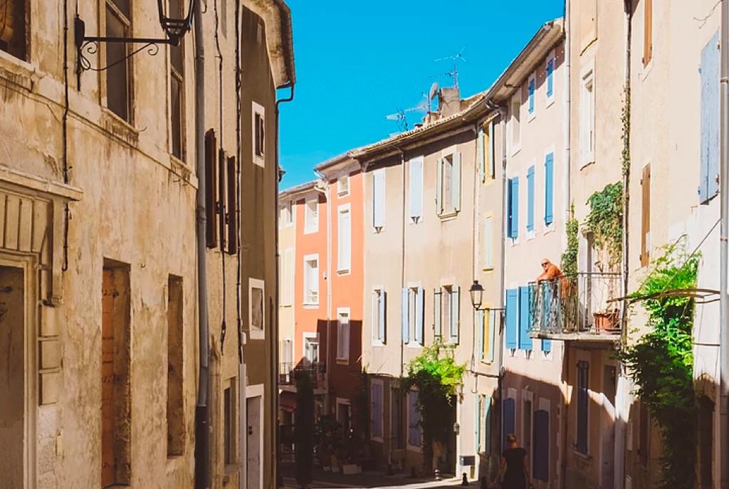 Winding Spanish street