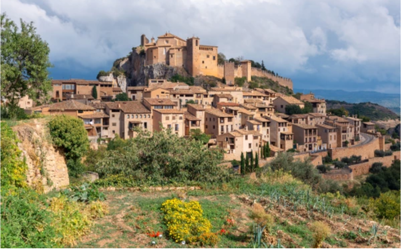 Alquezar village, Huesca Province, Spain
